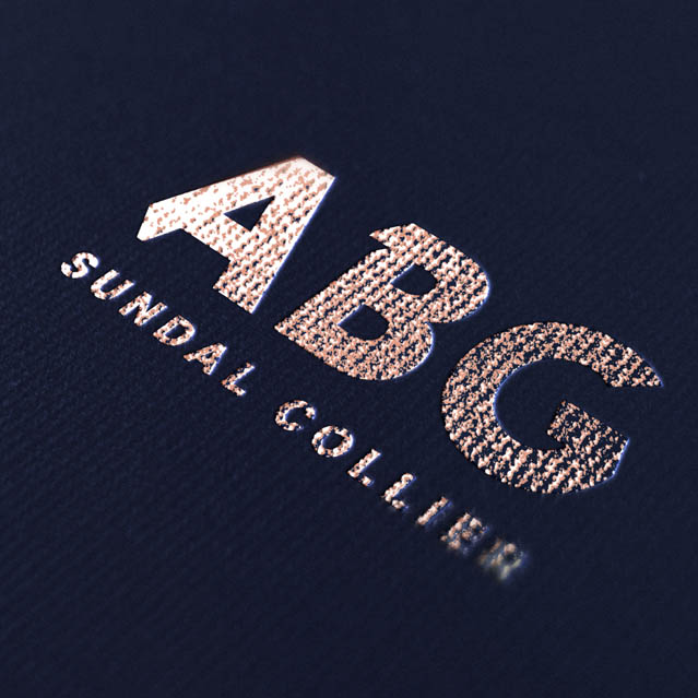 ABG logo on book
