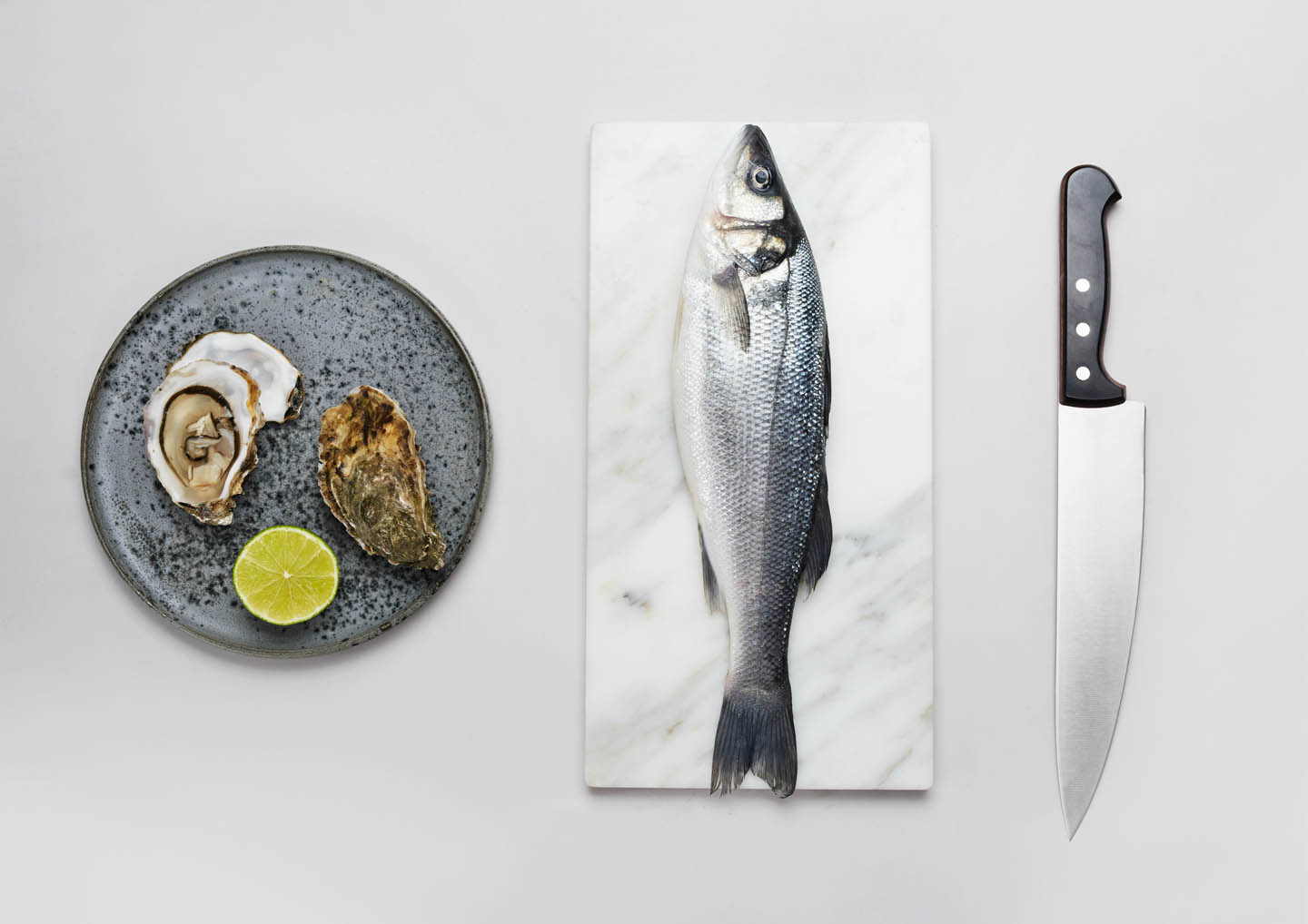 Øyo products and fish